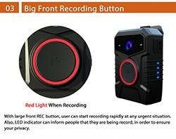 Affordable WIFI Body Worn Camera - 3 250px
