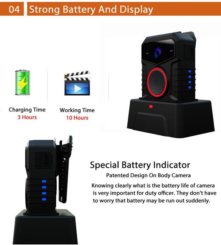 Affordable WIFI Body Worn Camera - 4
