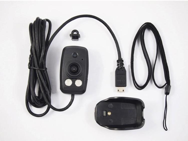 Dual Lens Ambarella A7 Police Body Worn Camera with 7000mah Battery, Police Camera - 7