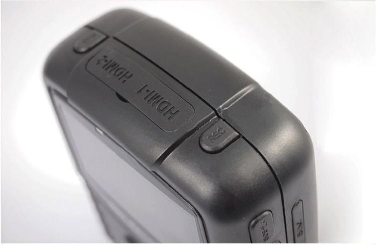 Dual Lens Ambarella A7 Police Body Worn Camera with 7000mah Battery, Police Camera - 8