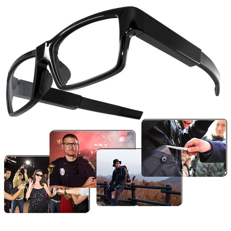 Kacamata HD1080P Kamera Tersembunyi - 3