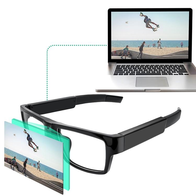 Kacamata HD1080P Kamera Tersembunyi - 4