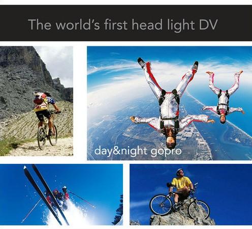 LED Headlamp Camera DVR - 8