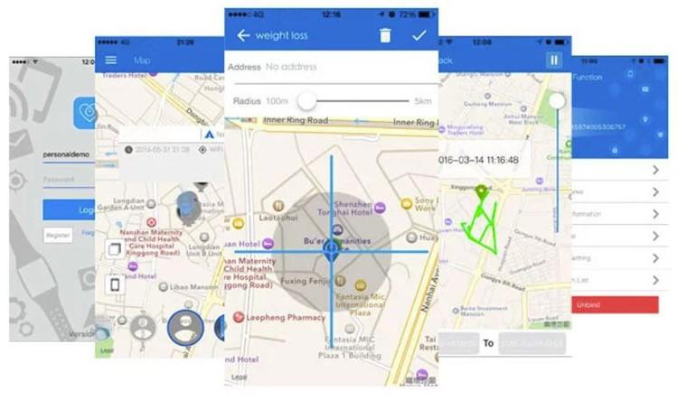 Mini Personal GPS Tracker for Elderly, Kids - 10