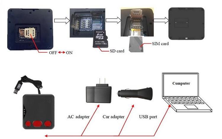 Personal Ankle GPS Tracker with bracelet belt on off alarm for Parolee Prisoner - 3