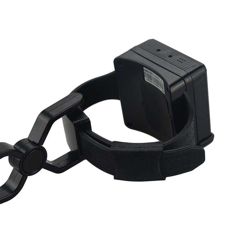Personal Ankle GPS Tracker with bracelet belt on off alarm for Parolee Prisoner - 4