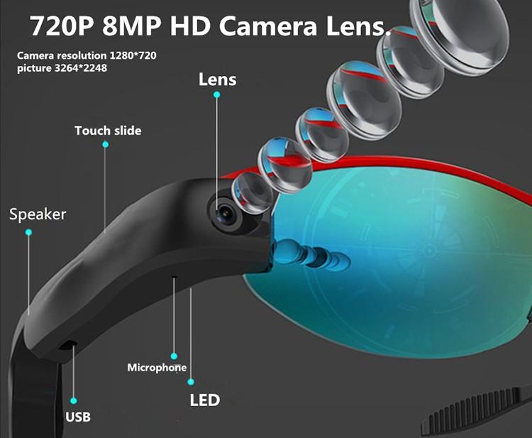Smart Glasses Body Worn Camera - 3