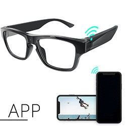 Touch Eyeglasses P2P Security Camera - 1 250px