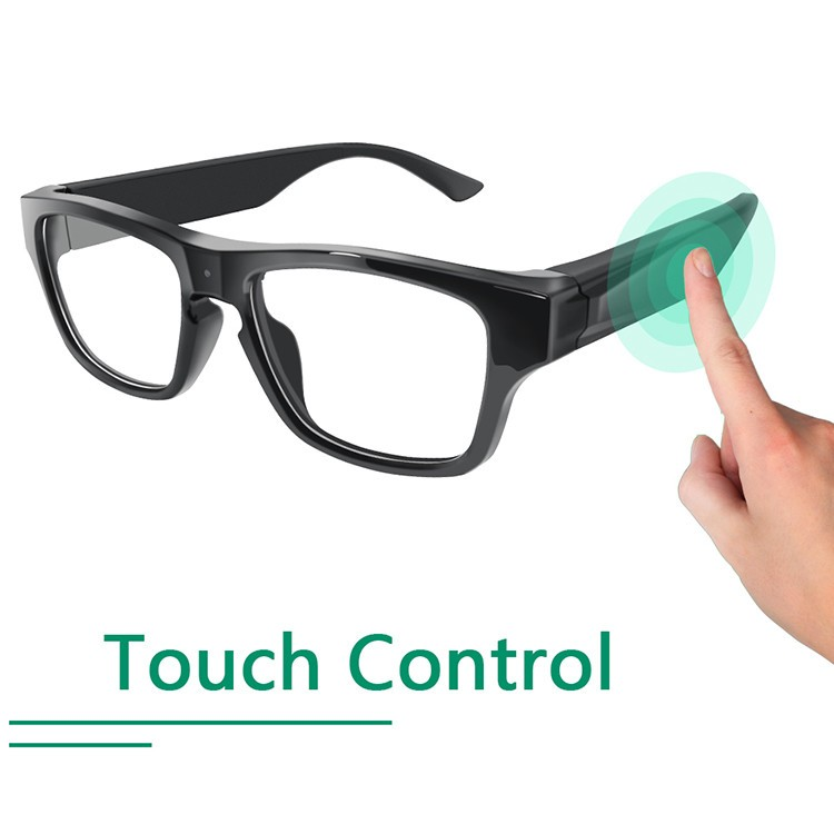 Touch Eyeglasses P2P Security Camera - 5