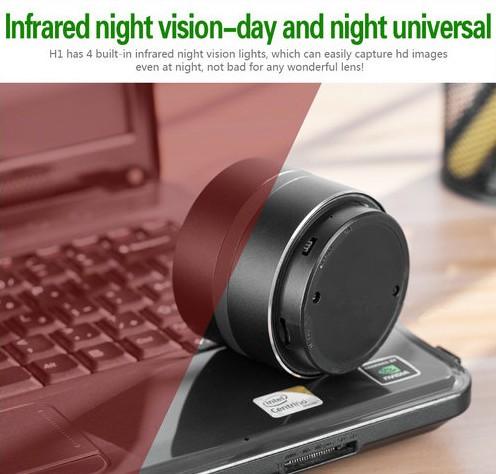 WIFI Network Bluetooth Speaker Camera, HD 4K Video, Max 128G SD Card - 5