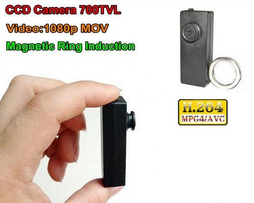 CCD Button Camera