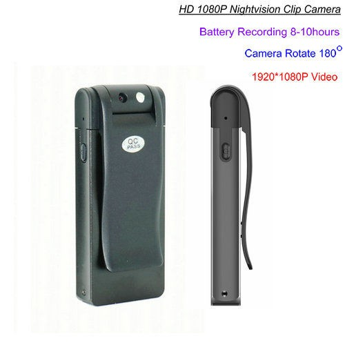 HD Clip Camera, Nightvision, 8-10hours Recording - 1