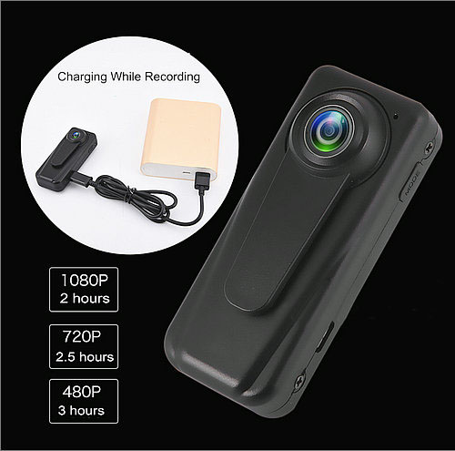 Mini HD Body Worn Police Camera - 5
