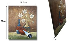 SPY232I - Flower Vase Oil Paint Spy Hidden Camera - 250px