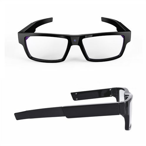 Spectacles Spy Camera DVR,5.0MP CMOS1080P30fps 120Degree - 2