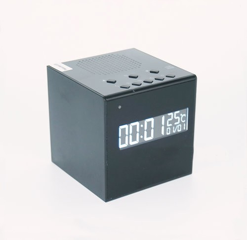Bluetooth Speaker Clock WIFI Camera, Super Nightvision - 2