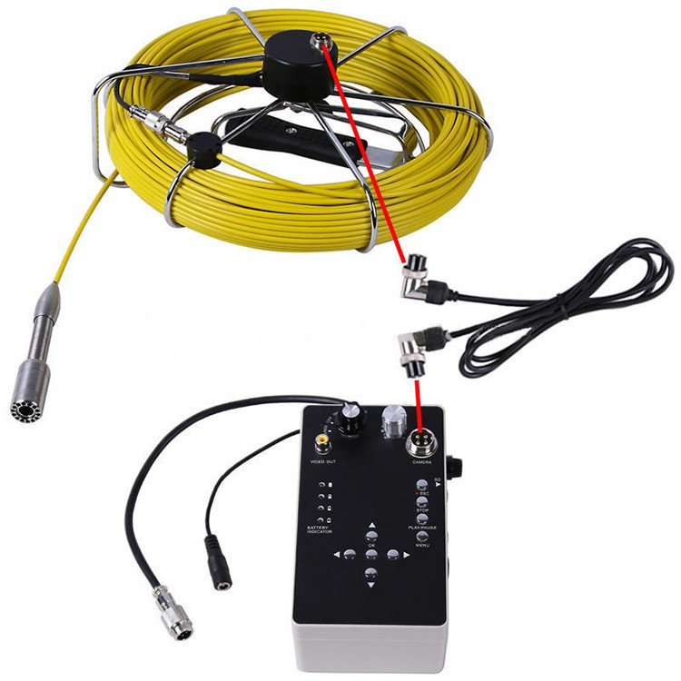 Pipe Inspection Camera with 7'' Digital LCD screen - 5