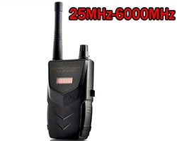 Professional SPY Camera Bug RF Detector, 20-6000MHz, distance up to 30m - 1 250px