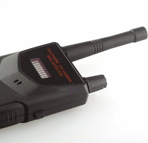 Profesionāls SPY kameras bojājuma RF detektors, 20-6000MHz, attālums līdz 30m - 6