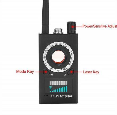 SPY995 - SPY Camera Detector - Signaal-lens-Magnet Detector - 5