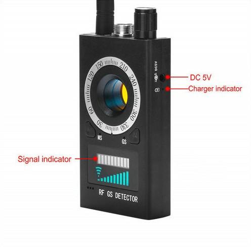 SPY995 - SPY Camera Detector - Signaal-lens-Magnet Detector - 6