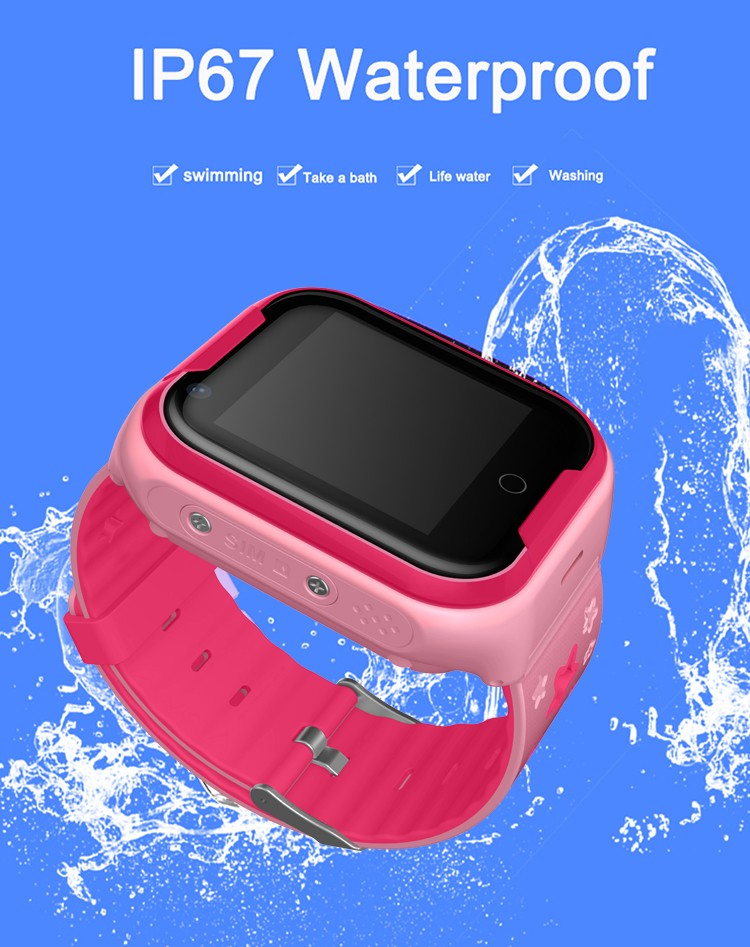 Waterproof 4G Video Call Watch - 9