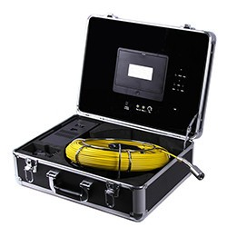 Waterproof Pipe Inspection Camera with 20m Fiber Glass cable - 1 250px