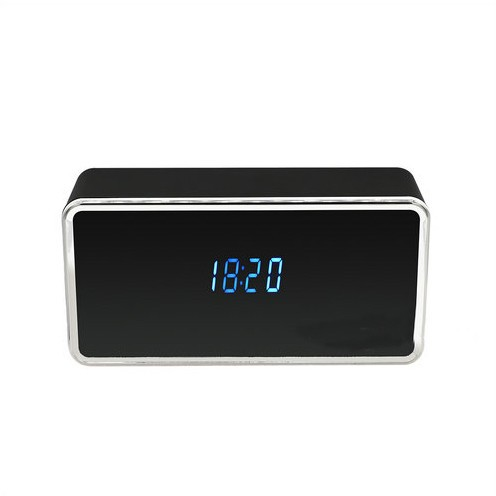Rectangular WIFI Clock Camera, 128G - 2