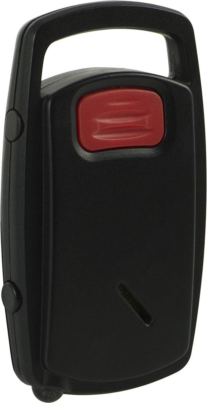 Self-Defense Push-Button Keychain Alarm, Built-In LED Light - 2