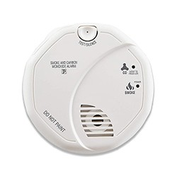 Smoke and Carbon Monoxide Detector, Battery Operated - 1 250px