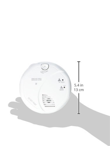Smoke and Carbon Monoxide Detector, Battery Operated - 9