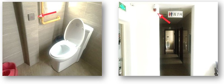 Water Resistance Public Toilet Sound and Light Alarm System - 11 750x
