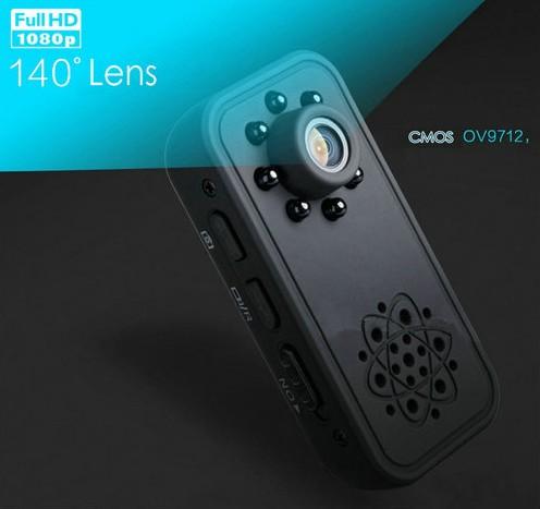 HD SPY skrita mini kamera, Super Nightvision, zaznavanje gibanja, baterija 3Hrs - 3