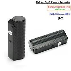 Hidden Voice Recorder, 600 Hrs, Buildin 8G - 1 250px