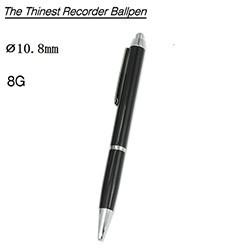 Voice Recorder Ballpoint Pen, Battery 13 Hours, 8G - 1 250px