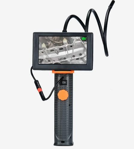 4.3inch Endoscope Camera, HD 2.0M Camera 8mm Head,Nightvision, Waterproof - 4