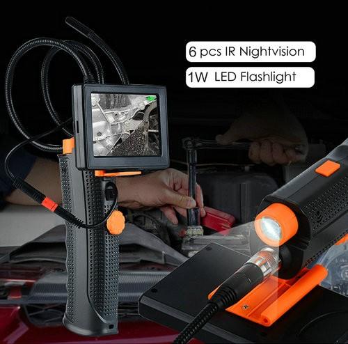 4.3inch Endoscope Camera, HD 2.0M Camera 8mm Head,Nightvision, Waterproof - 8