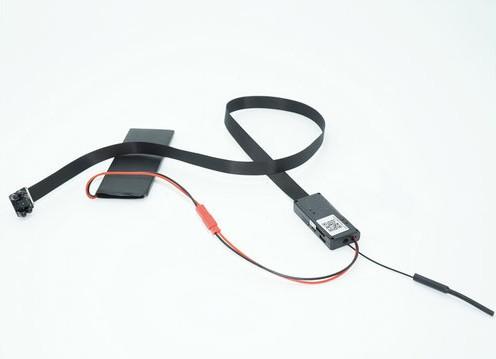 4K WIFI SPY Pinhole SPY Hidden Camera with Night Vision, 60cm Length SD Card Max 128G - 4