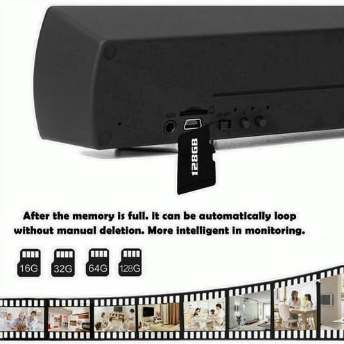 WIFI Bluetooth Speaker SPY Hidden Camera, HD 4K2K1080P, Super Nightvision - 6