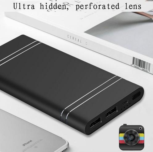 4K WIFI Powerbank Camera, HD 4K2K1080P, NightvisionTF 128G,10000mAh Battery - 3