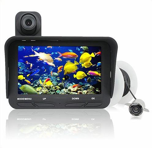 Under Water Camera DVR, Dual Camera, 4.3 inch LCD, 720P&480P, 20meters - 10
