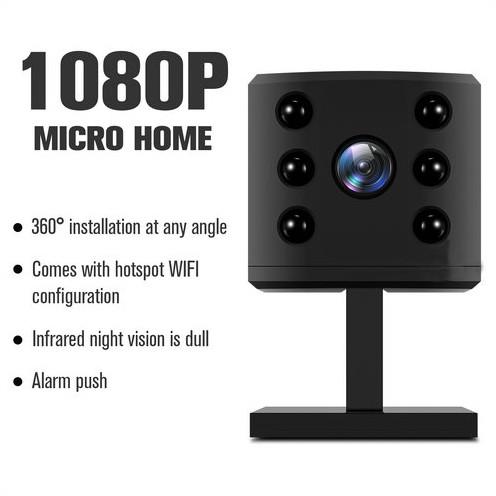WIFI Mini Camera, HD1080P, H.264, Nightvision,TF Max 128G - 2
