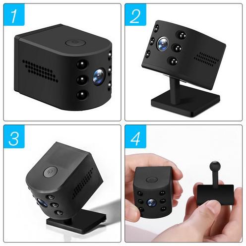 WIFI Mini Camera, HD1080P, H.264, Nightvision,TF Max 128G - 7