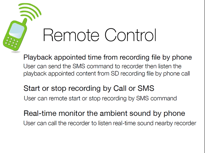 Remote Sim Card Voice Spying Device, Monitor the kids when you are away - 10