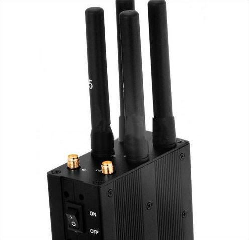 6 Antenna 3W Phone Jammer,CDMAGSM, DCSPHS, 3G, 4G, GPS, Lojack, High Quality - 2