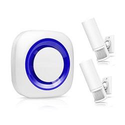 Smart Motion Wireless PIR Motion Sensor Alarm - 1 250px