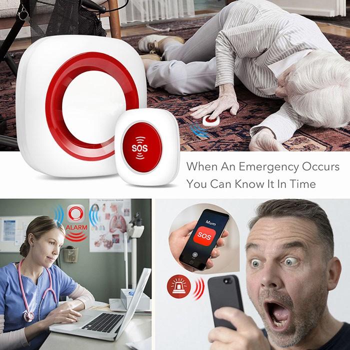 Wireless Portable Smart Nursing Call alarm - 5