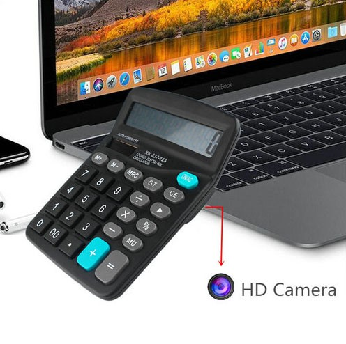 4K WIFI Calculator Camera, Support Max SD Card 128GB - 5
