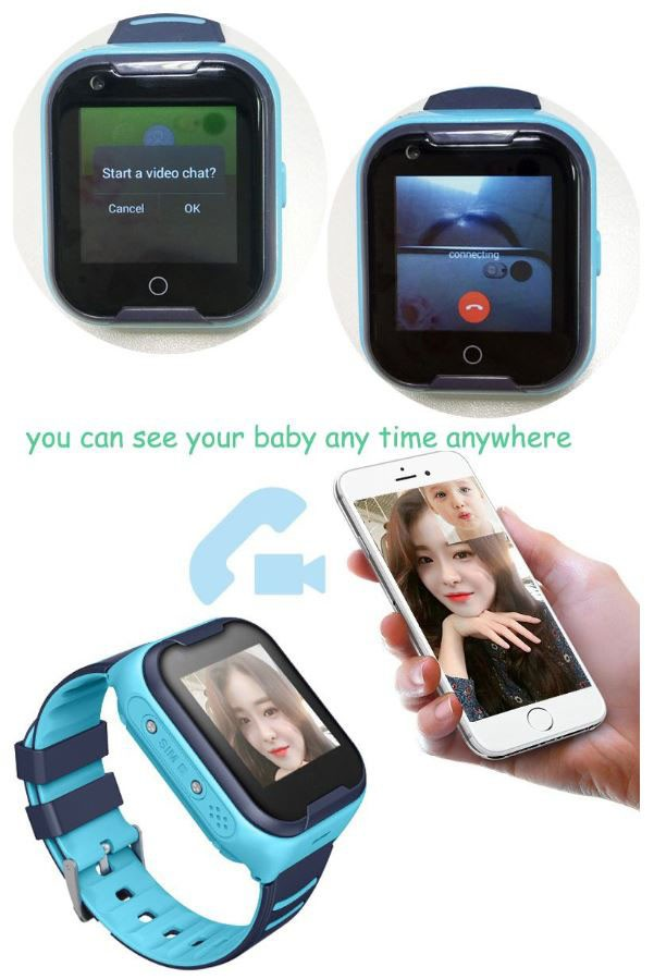 GPS033W - 4G Waterproof Video Call Watch - Video call function