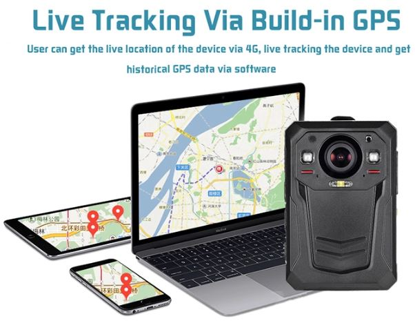 Mini WIFI,GPS,3G,4G Body Worn Camera - 16